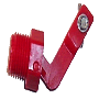 "Valve (male) ½"" NPT (red) 3.5 GPM @ 50 PSI"