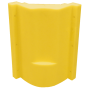 "18492-20"" Moulded plastic shroud with bucket rest"